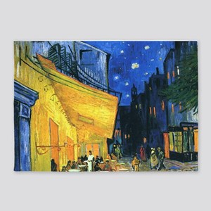 Van Gogh CafeTerrace at Night 5'x7'Area Rug